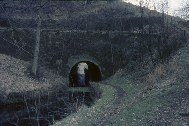 Gregory Tunnel, Cromford Canal, Buckland Hollow, Cromford, 1967