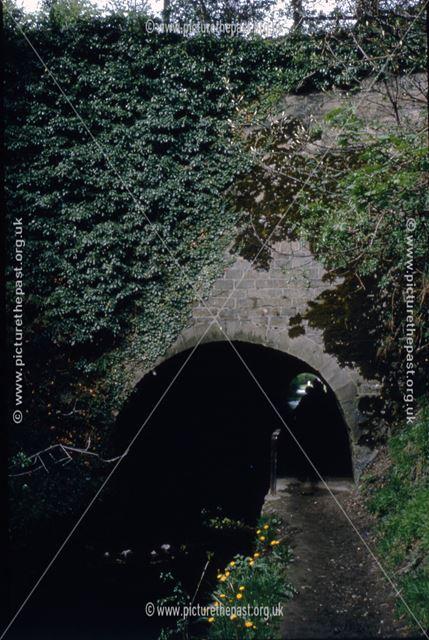 Hag Tunnel 18, Cromford Canal, Bullbridge, 1965
