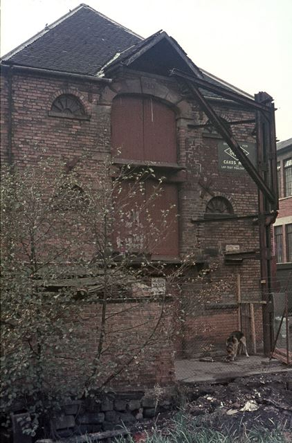 Derby Canal Warehouse at the Former Bridgwater Wharf, Cock Pitt, Derby, 1964
