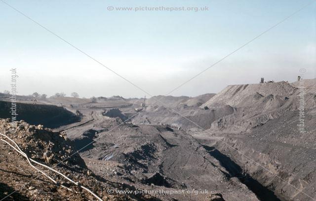 Opencast Coal Mine, Smalley, 1948