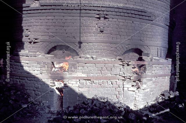 Brick Kiln, Ticknall, 1965