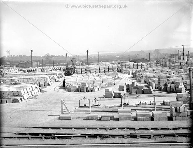 Concrete Plant stock yards