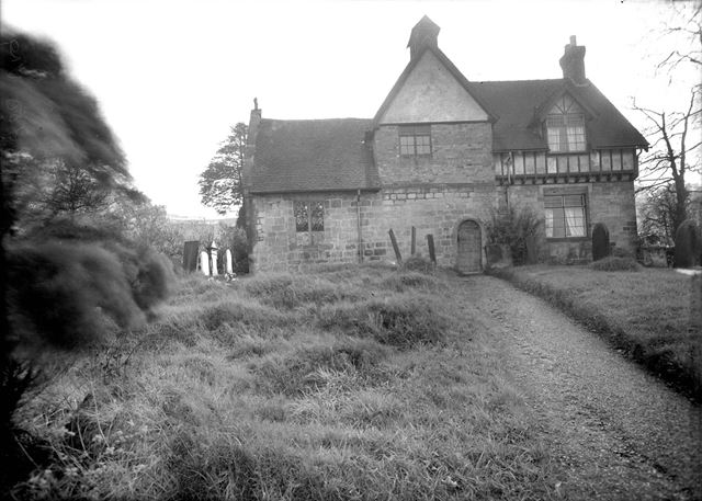 All Saints Church, Dale Abbey, c 1930s