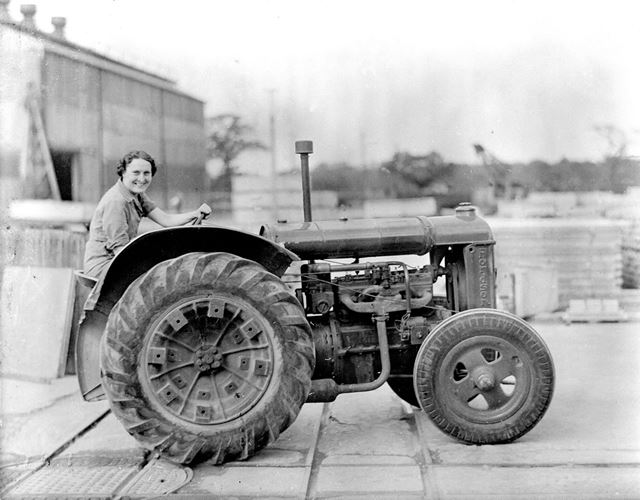 Tractor driver at Concrete Plant