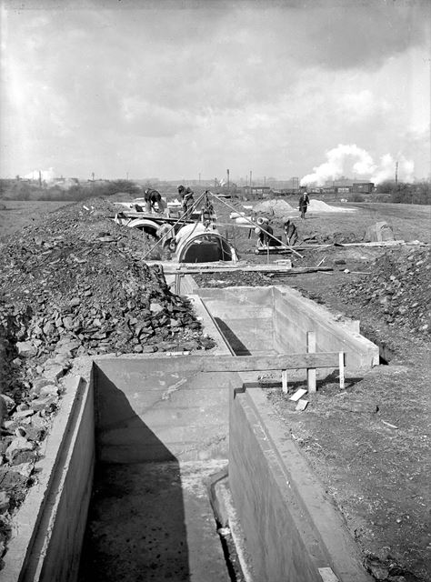 Construction of air raid shelters