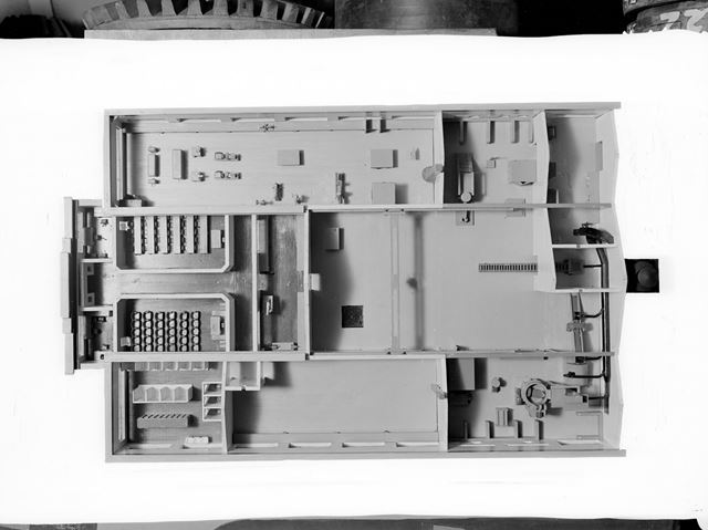 Cut-away model of new Training Centre