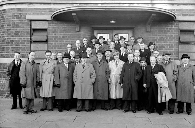 National Federation of Master Plumbers, Exhibition Building, Stanton Works, c 1948