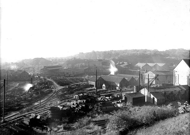 Stanton Ironworks Company's Riddings Foundry, Lower Somercotes, Riddings, c 1949