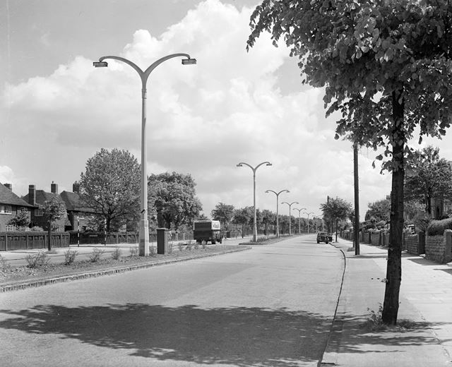 Looking East, Valley Road, Basford, Nottingham, c 1950s?
