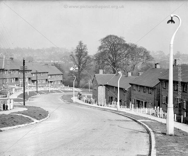 View East, Kenilworth Drive, Kirk Hallam, Ilkeston, c 1950s