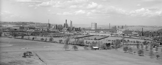 View from South East, Stanton Works, 1950s-60s?