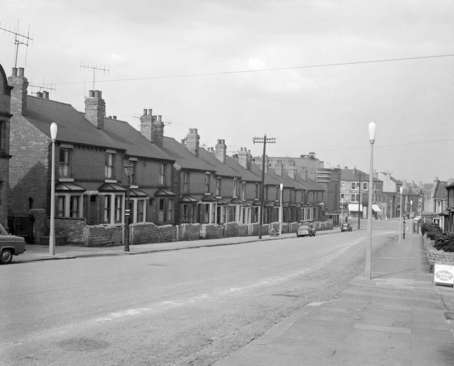 Duke Street Looking North, Hucknall, c 1950s