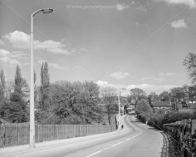 Litttle Hallam Hill, Little Hallam, Ilkeston, c 1950s