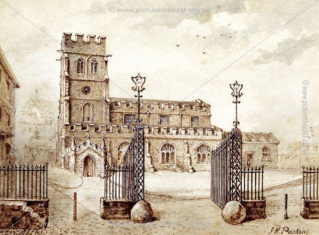 Old St Alkmund's Church