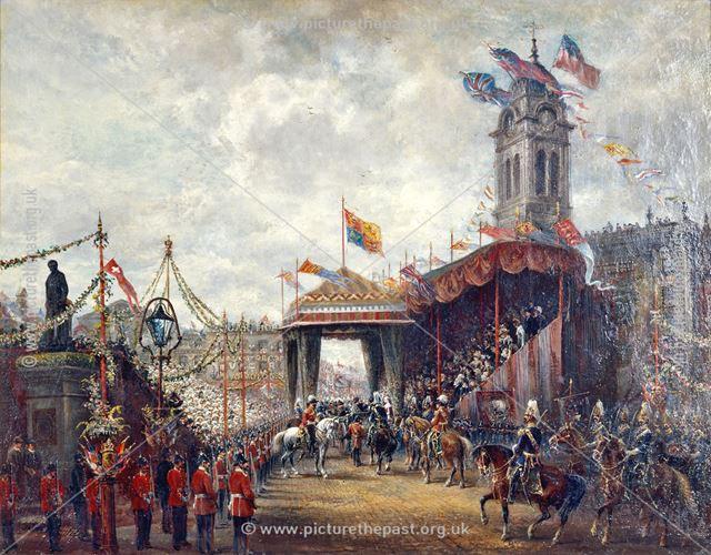 Market Place, The Royal Visit, Derby
