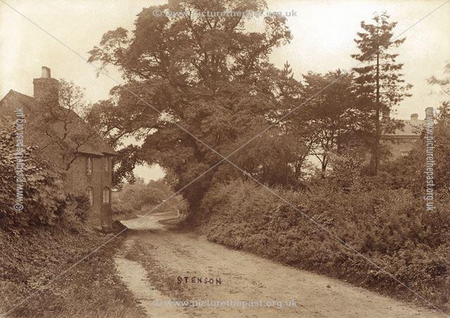 George William Kirkman's Cottage, Stenson, Findern, c 1900