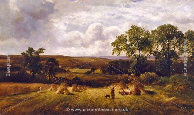 Harvest scene, Barrow upon Trent