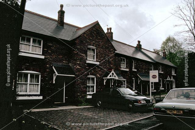 Newly built houses on Brick Row, Darley Abbey