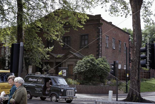 Unitarian Chapel, Friar Gate, Derby