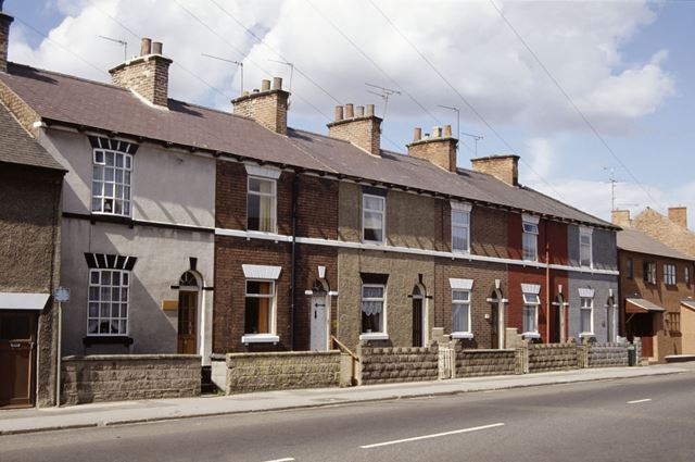 Houses in Mansfield Road