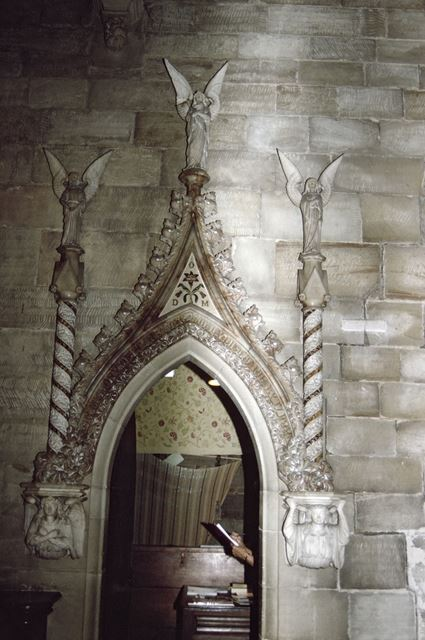 Interior of All Saint's Church, Mackworth