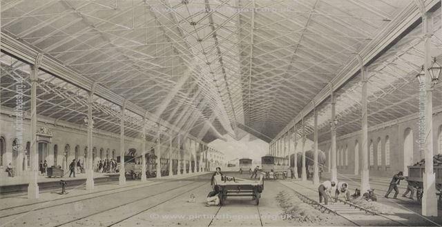 Derby Station, 1839
