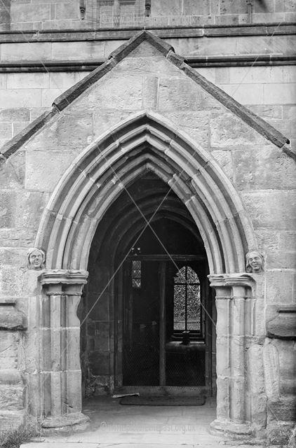 Church Entrance, Off Church Lane, Morely, 1880s