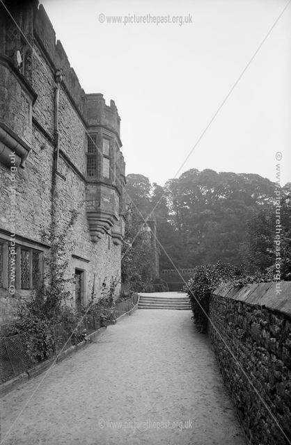 Haddon Hall, Bakewell, 1880s