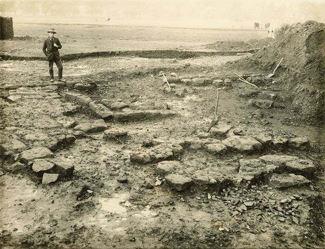 Excavation site, Little Chester