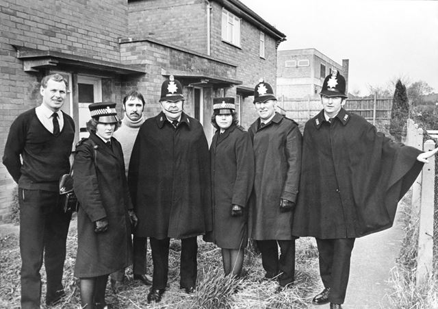 Seven Members of Chaddesden Police Force