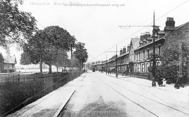 'Osmaston Road' (it is actually - London Road)