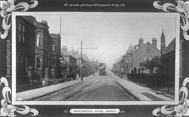 Dairyhouse Road, Normanton, Derby, c 1912