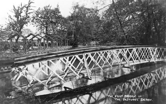 The Footbridge at 'The Pastures', Littleover