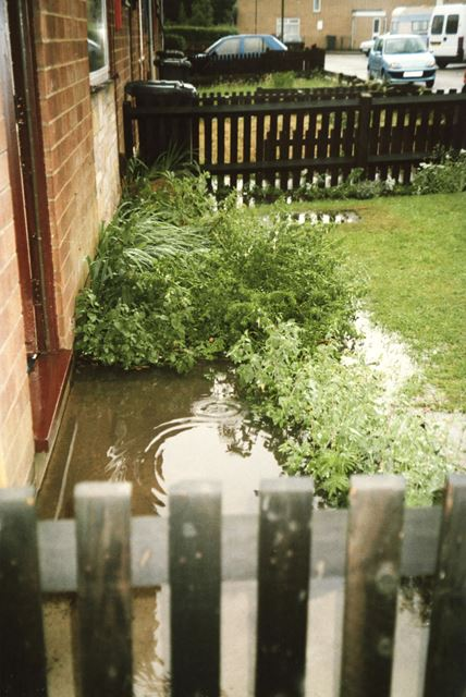 Flood At Carron Close