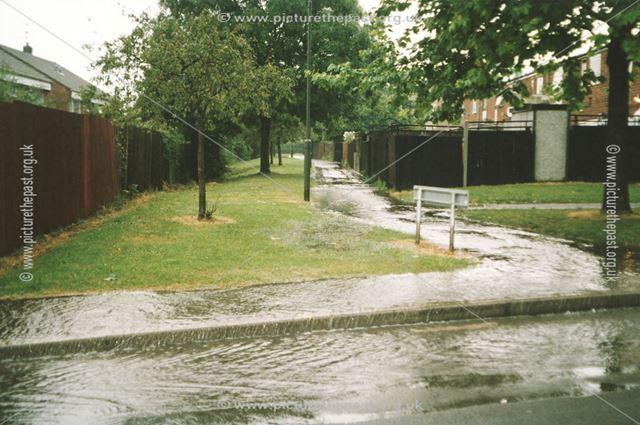 Flood At Carron Close