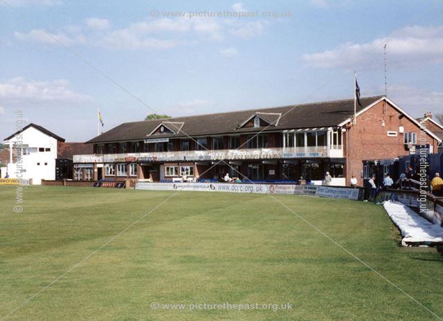 Derbyshire County Cricket Ground, Club and Lund Pavilion, Nottingham Road, Derby, 2002
