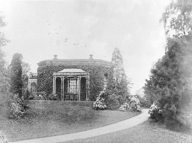 Derwent Bank, The Pavilion in the grounds