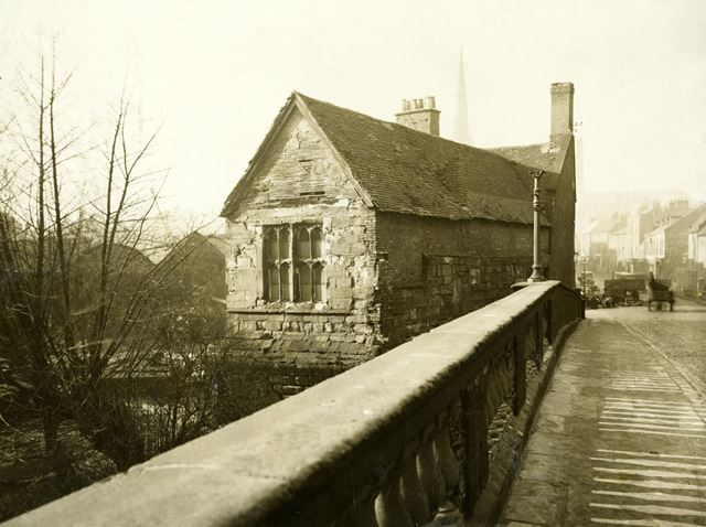 St Mary's Bridge Chapel before the 1931restoration