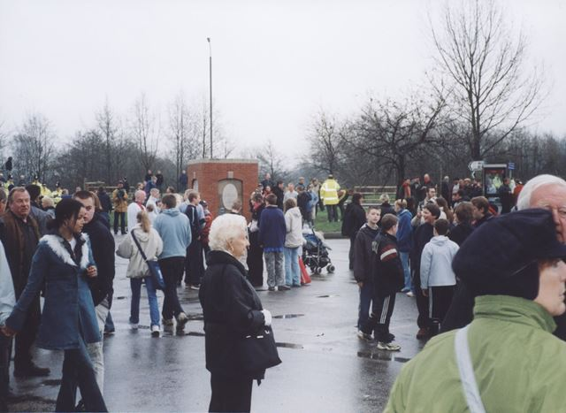 The Ashbourne Royal Shrovetide Football, Shaw Croft, Ashbourne, 2003