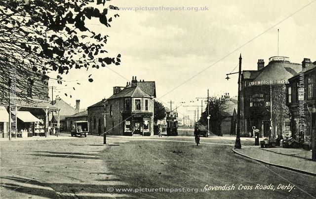 Cavendish Cross Roads and Cavendish Hotel