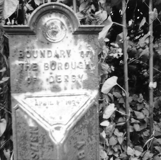 Old Borough Boundary marker, Chaddesden