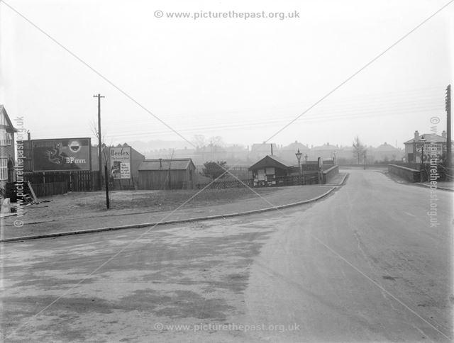 Pear Tree Bridge and station area