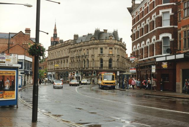 Victoria Street - former bus station