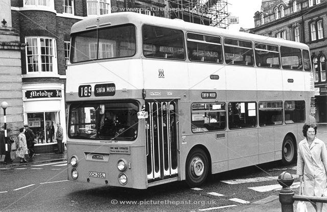Derby Corporation double-decker bus