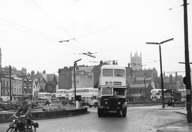 Derby Corporation double-decker bus
