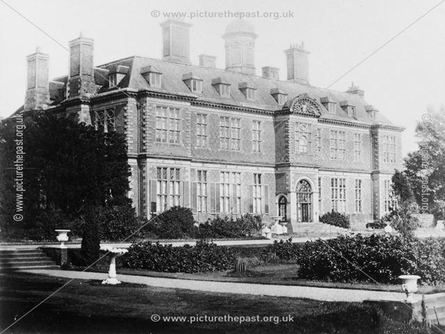 Sudbury Hall - garden front