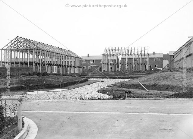 The building of Endsleigh Gardens, Mackworth