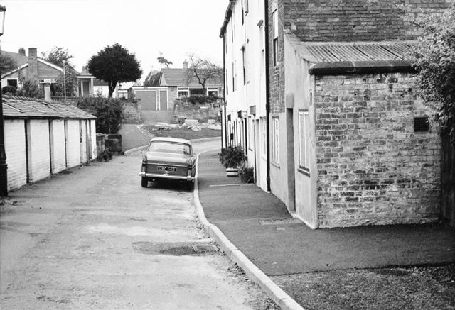 West Row, after pavement improvements, Darley Abbey