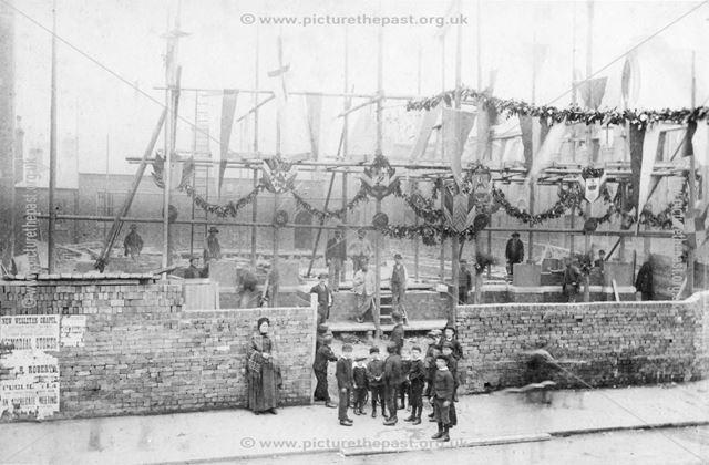 Ashbourne Road Methodist Church -construction