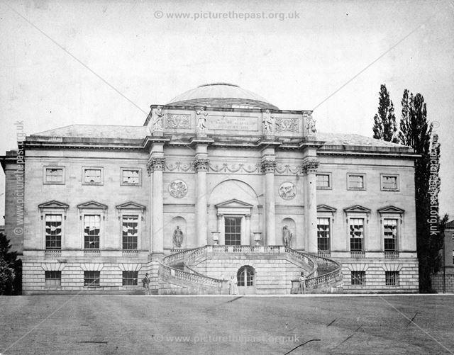 South front of Kedleston Hall